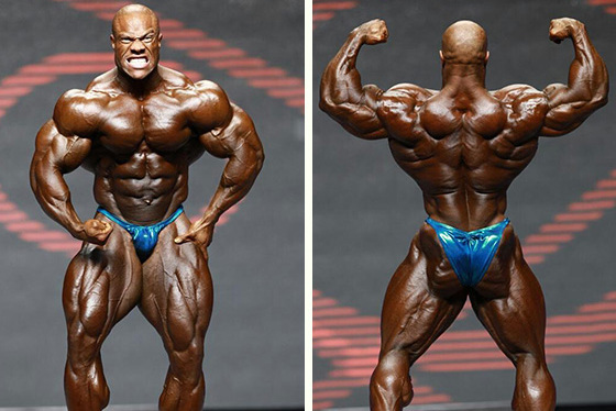 Mr. Olympia 2014 Classificação final de todas as categorias