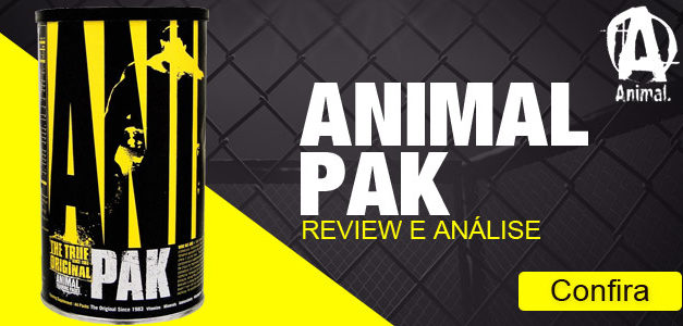 ANIMAL PAK DA UNIVERSAL NUTRITION, O QUE É, PARA QUE SERVE E COMO TOMAR ?